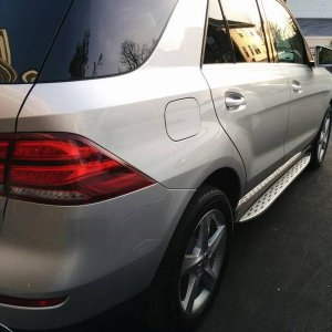 GLE Running Board Pass side