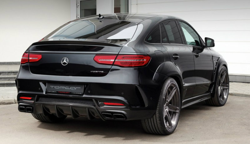 Mercedes Gle Coupe Body Kit Is Sizzling Hot Mercedes Gle